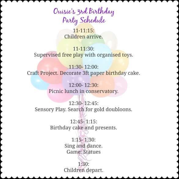 BirthdayPartySchedule